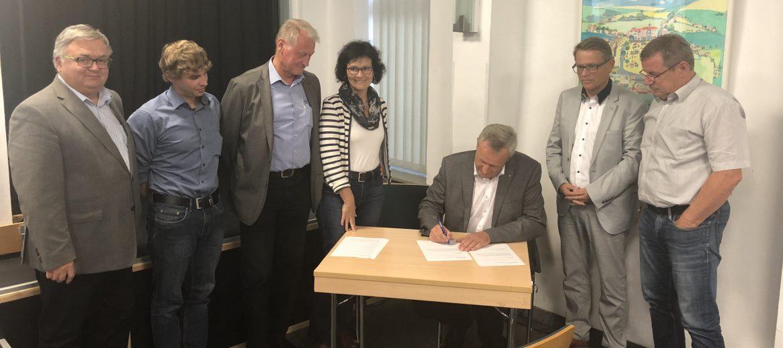 Gemeinde Machern unterzeichnet Letter of Intent